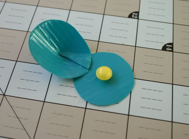 duck tape flower tutorial 12