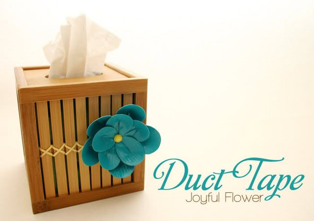 duct tape flowerfeatured