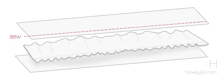 sewing top tutorial step 8