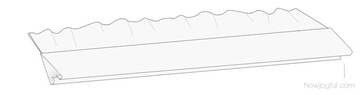 sewing top tutorial step 9