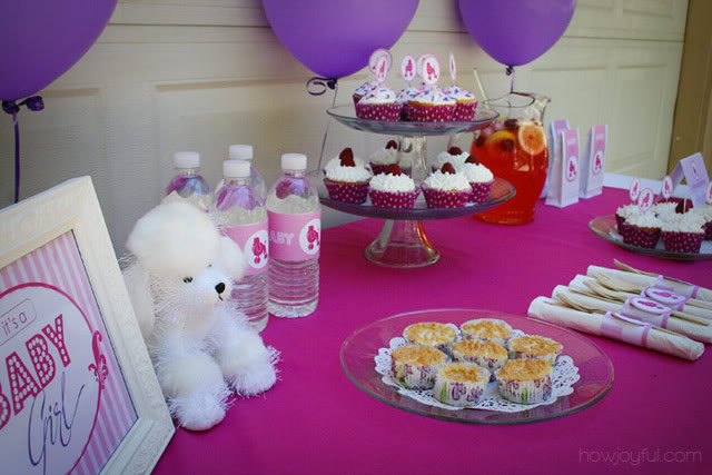 poodle baby shower