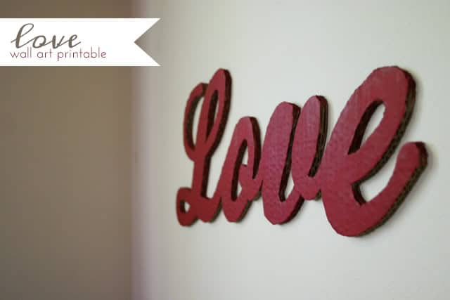 make a simple lettering sign