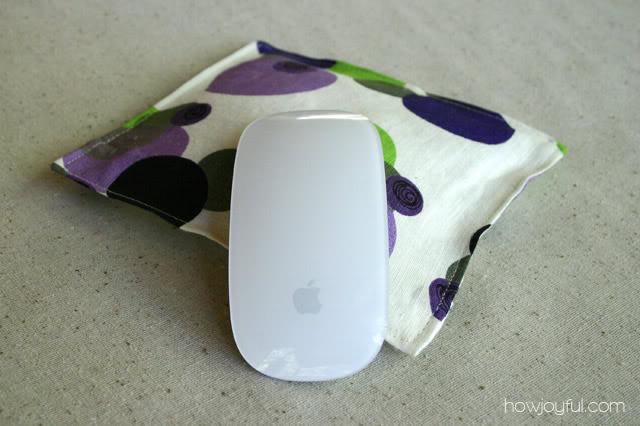 mini wrist pillow for mousepad with mousepad