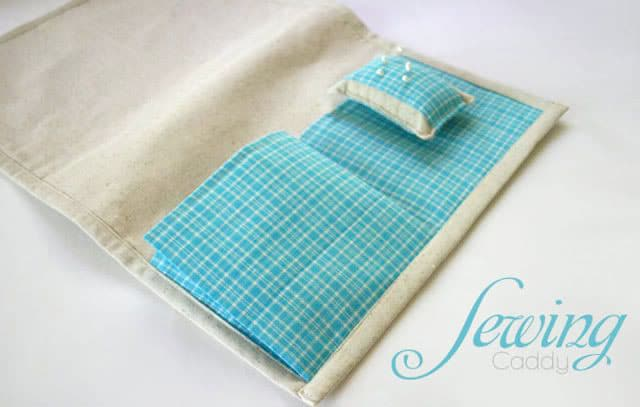 sewing caddy tutorial