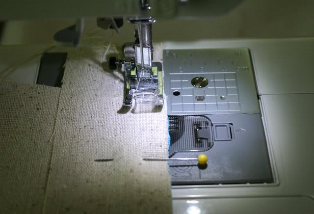 sew the edges