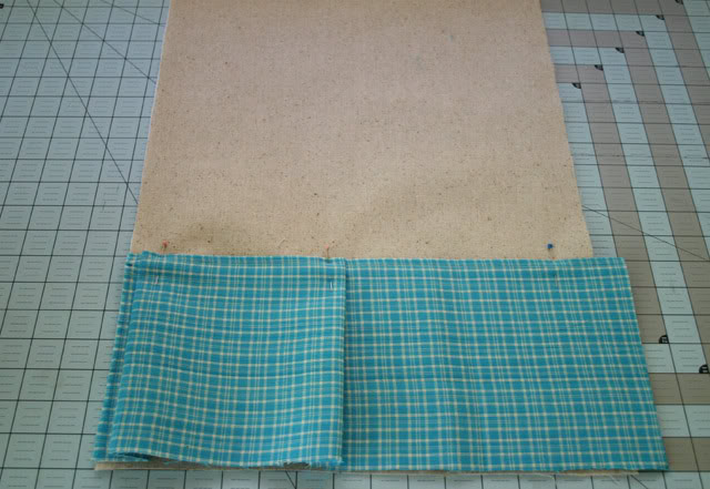 making the button pocket