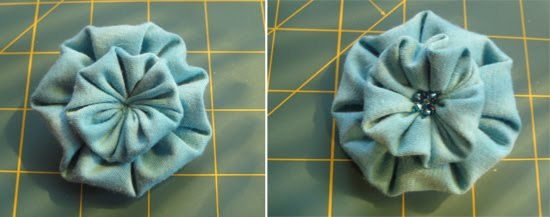 pinwheel flower tutorial