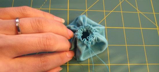 making the pinwheel