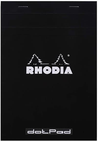 rhodia pad lettering