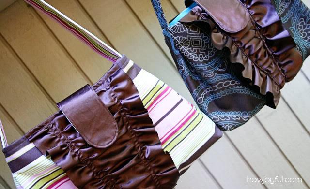 handbag ruffles