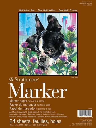 Strathmore marker paper
