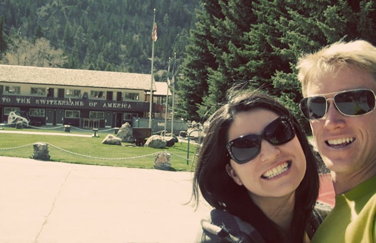 Kenny and i in colorado