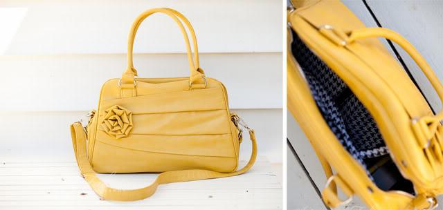 camera bag yellow