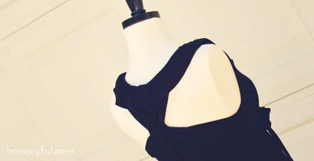 dress back side