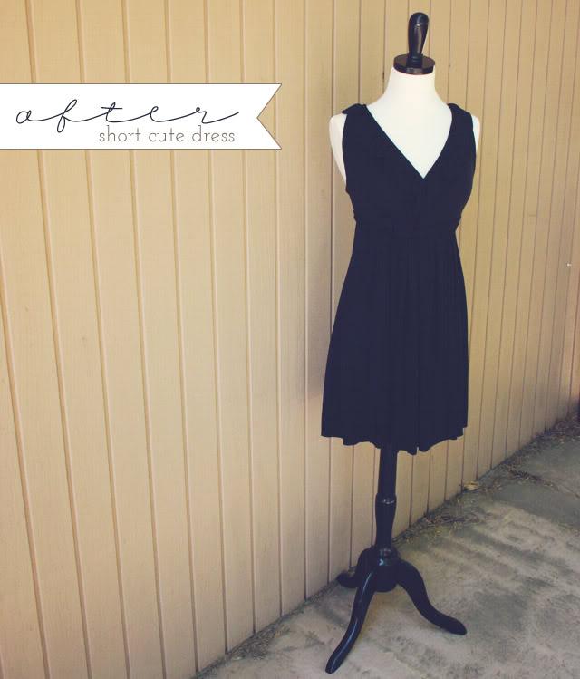 black little dress after