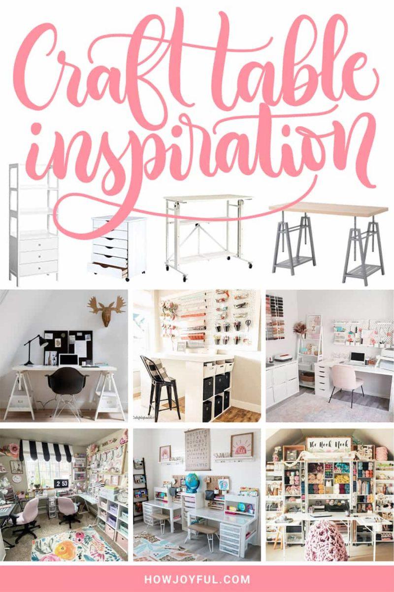craft table inspiration