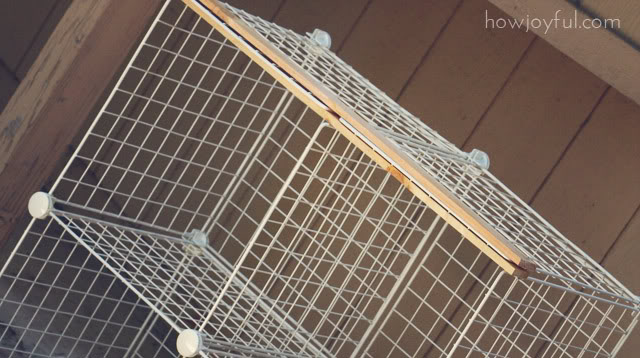 mesh cube storage