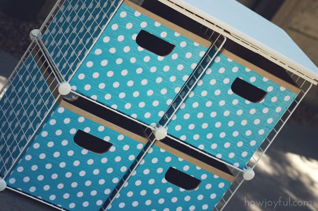 organize cubes