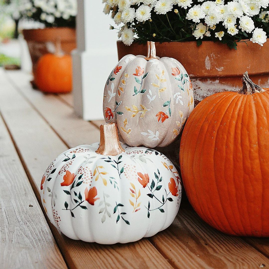painted pumpkin cute