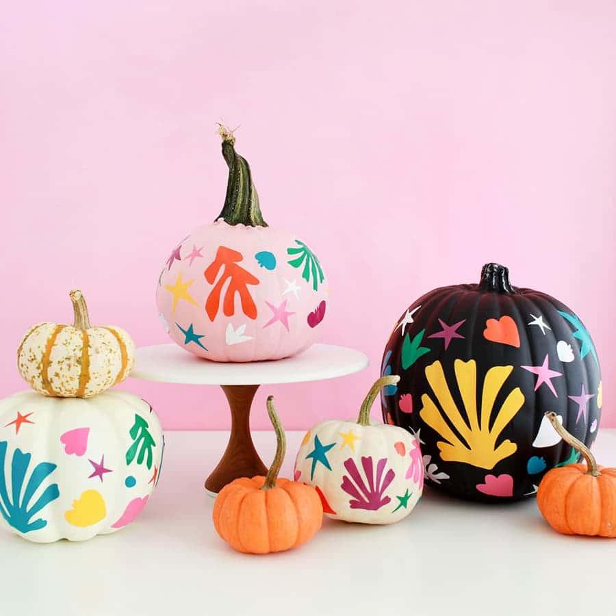 pumpkin painted matisse