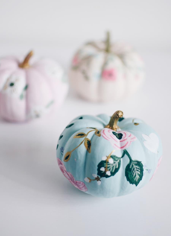 pumpkin painted riffle inspired