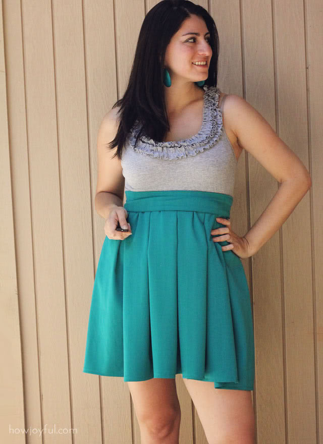 making a dress tutorial