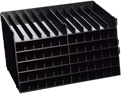 black horizontal pencil case