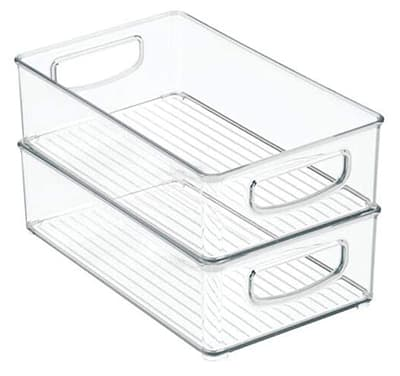 stackable clear boxes