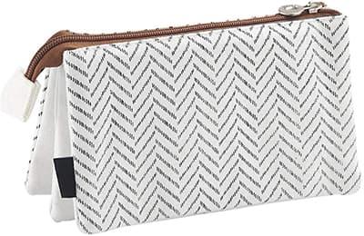 multi pocket pencil case