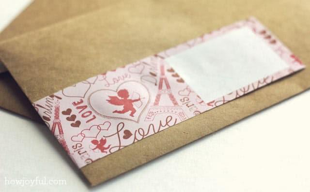 valentines wrap around labels