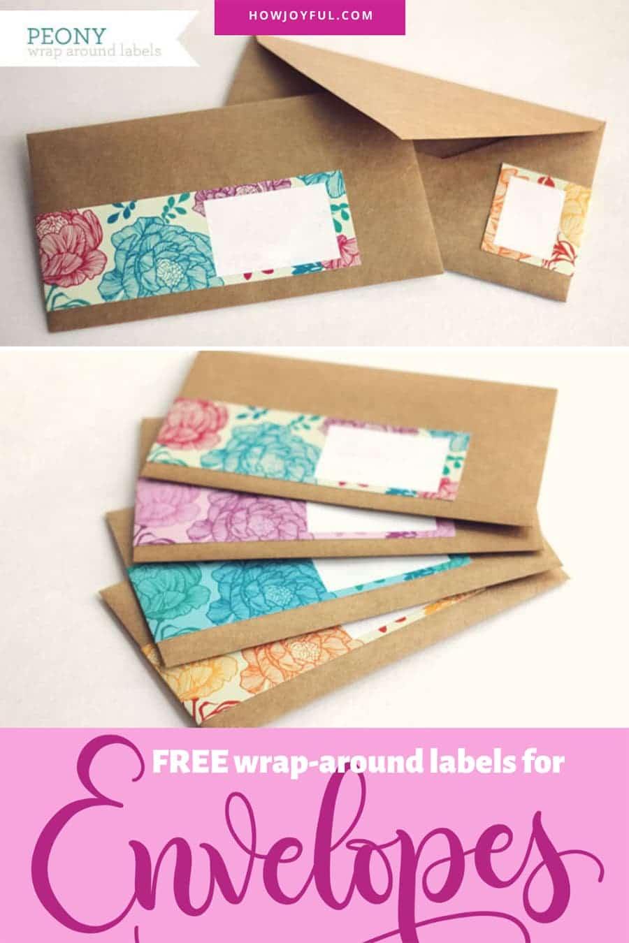 wrap-aroud envelopes