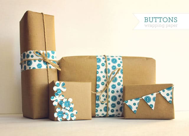 wrapping paper printable
