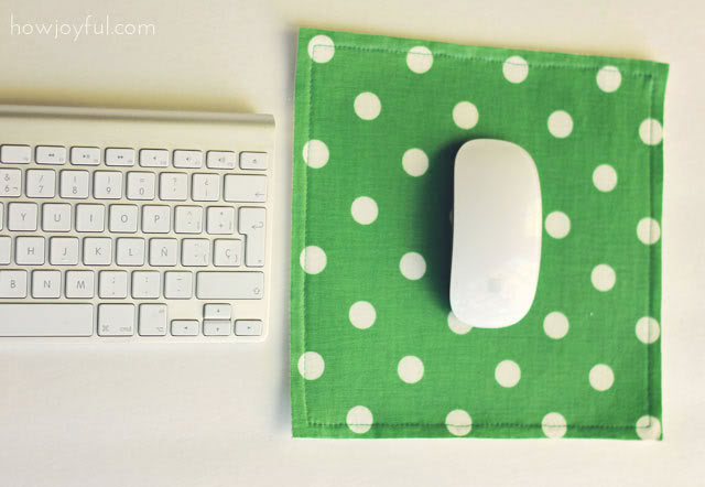 small DIY mouse pad