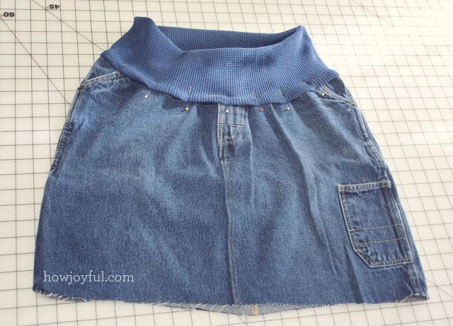 short to skirt step 15