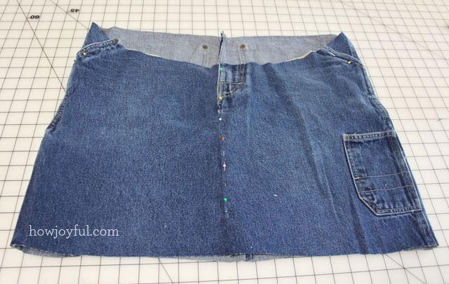 short to skirt step 8