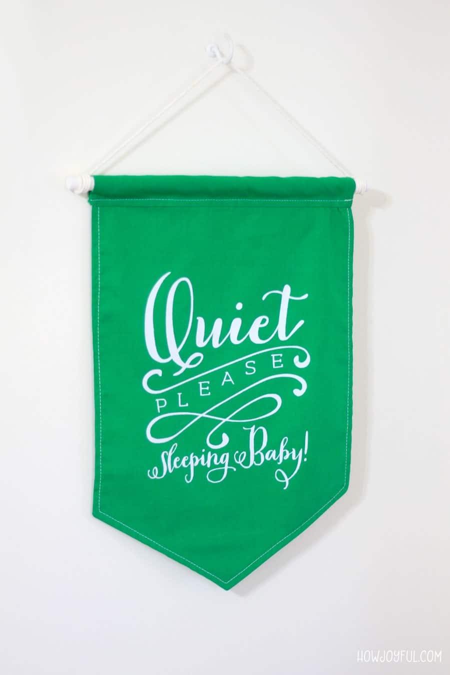 quiet please sign tutorial