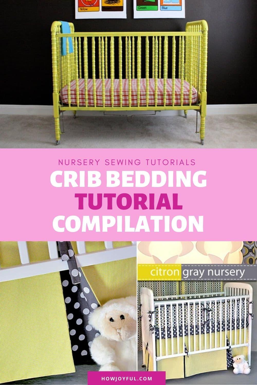baby bedding tutorial compilation