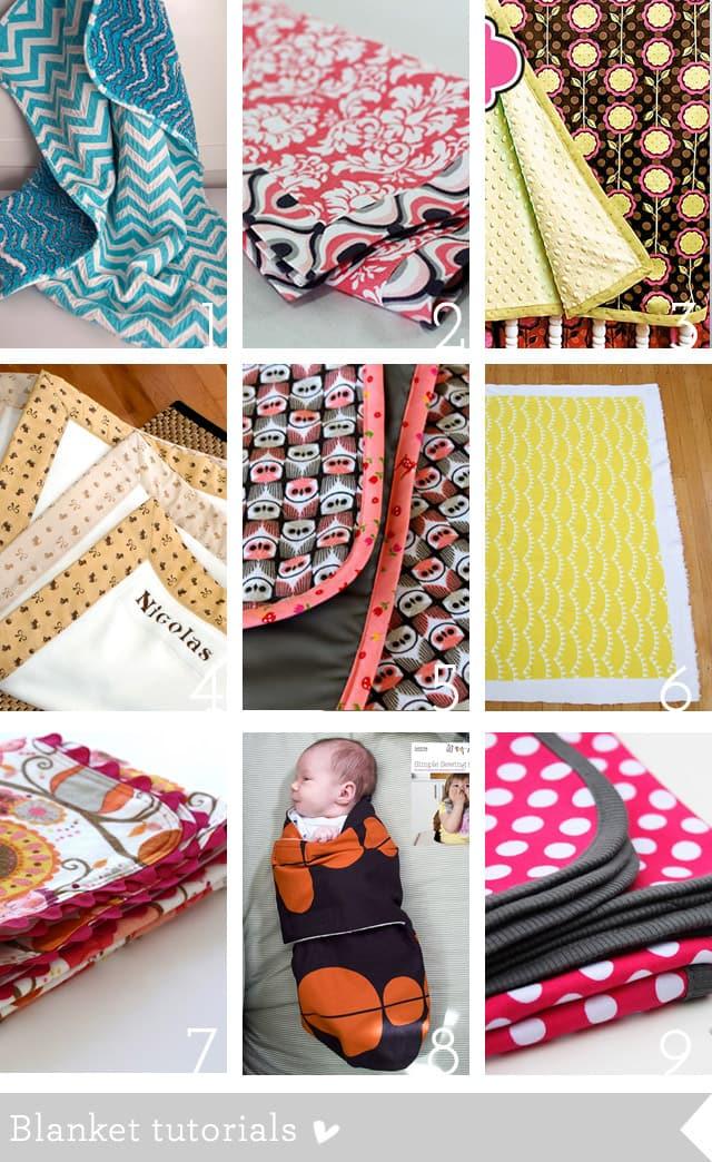 baby blanket tutorials