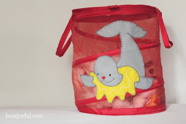 baby toy basket