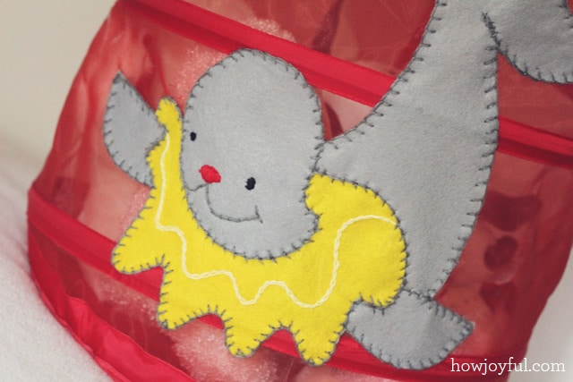 baby toy basket tutorial