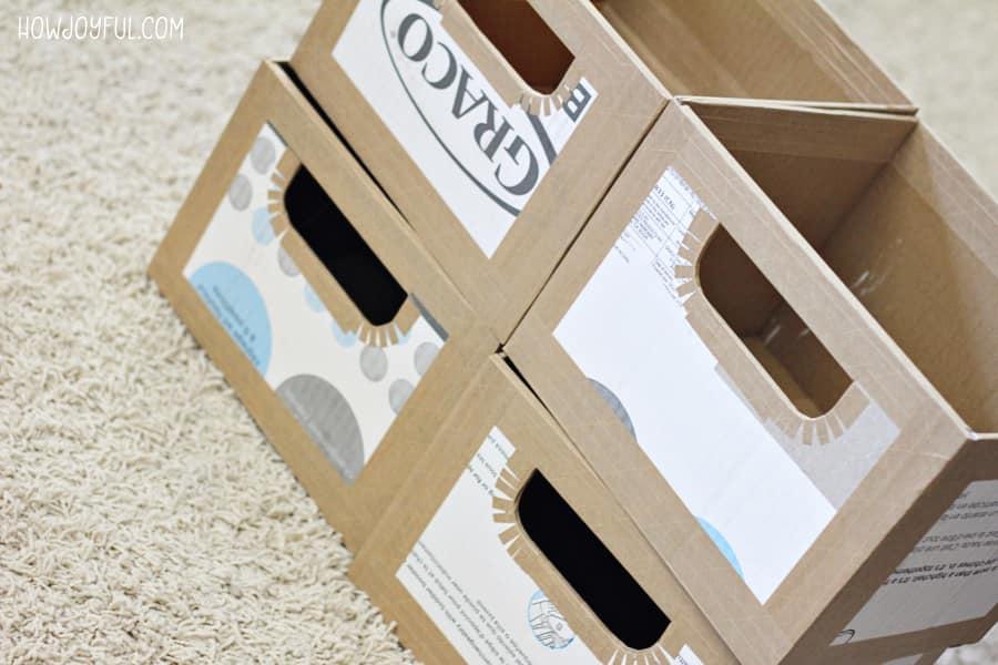 custom boxes of of cardboard