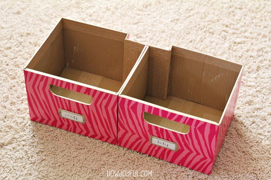boxes for weird space