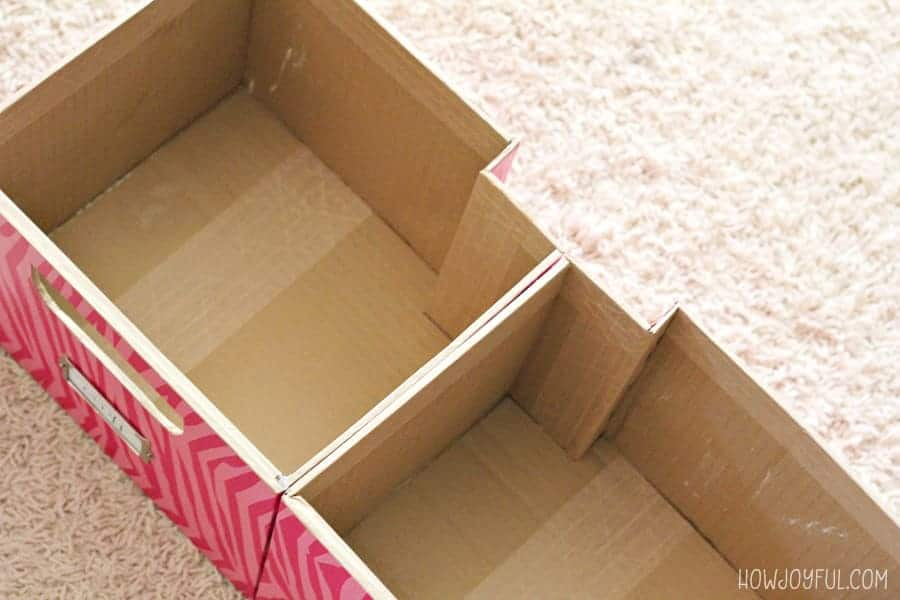 boxes for uneven space