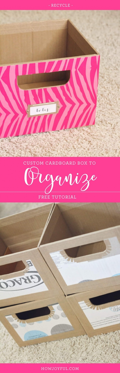 custom cardboard storage boxes