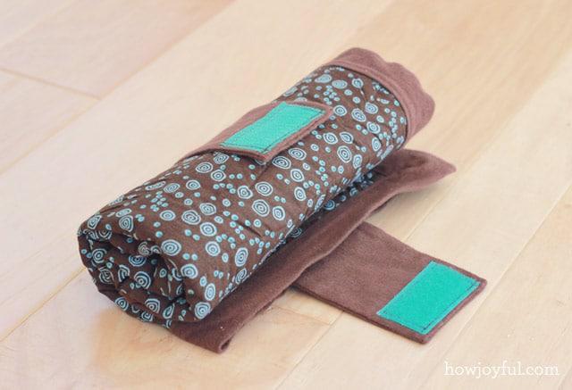 diaper mat tutorial