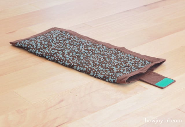 diaper mat folded