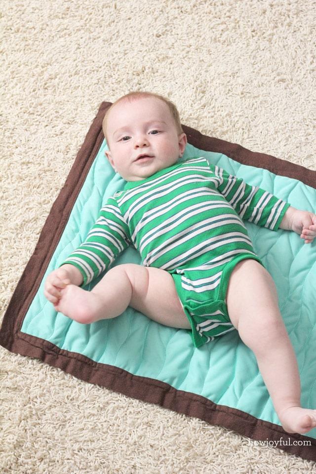 diaper changing tutorial