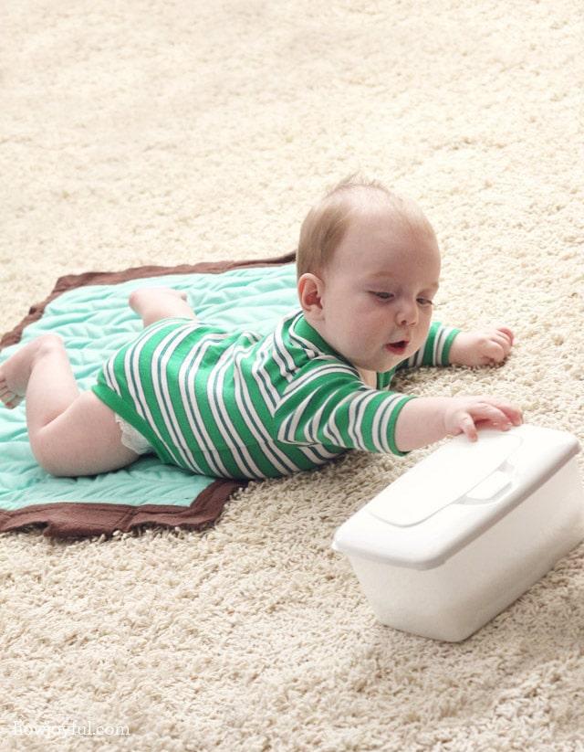 diaper changing mat tutorial
