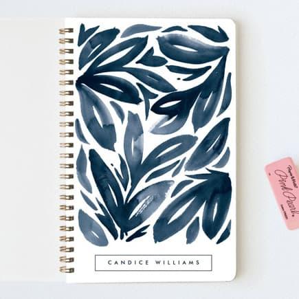 notebook watercolor