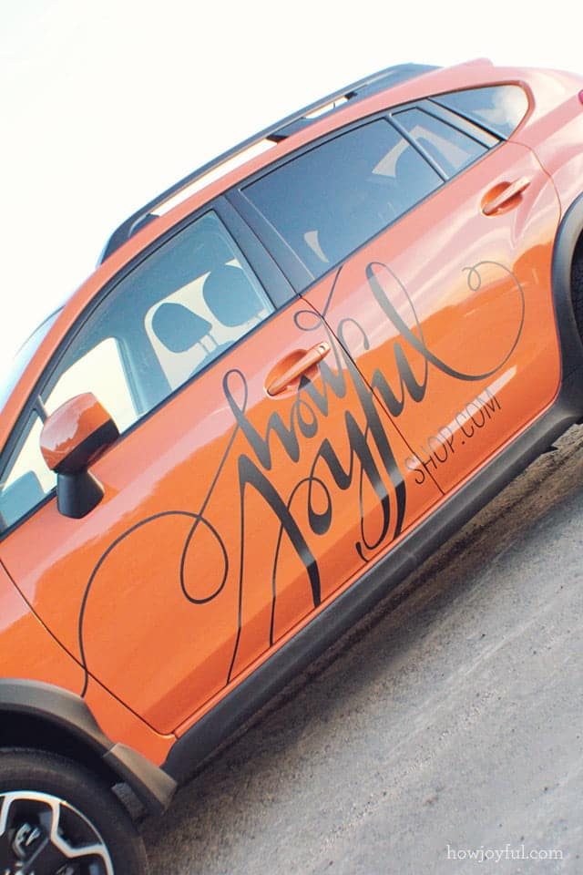 branding my car